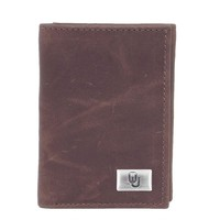 Oklahoma Sooners Leather Trifold Wallet (Okl Team)