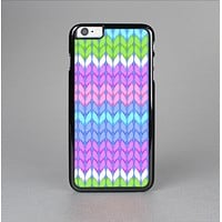 The Bright-Colored Knit Pattern Skin-Sert for the Apple iPhone 6 Plus Skin-Sert Case