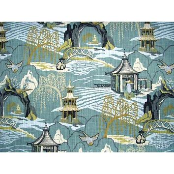 Robert Allen Neo Toile-Cove Fabric