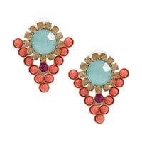 Multi-color Diamond Earrings