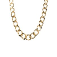 Monki Rebecka Gold Chain Necklace