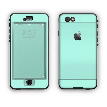The Subtle Solid Green Apple iPhone 6 LifeProof Nuud Case Skin Set