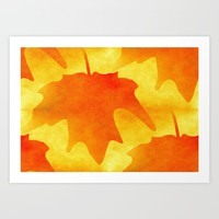 Autumn Glory Art Print by Kathleen Sartoris