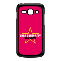 Celebrity Hater Black Hard Plastic Case for Galaxy Ace 3 by Chargrilled