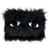 JOANNA PYBUS Liquorice Monster Clutch Bag