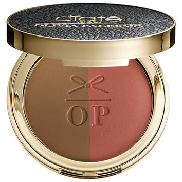 Ciaté London Olivia Palermo x Ciaté London The Cheekbone Cheat Blusher Bronzer Duo (0.35 oz