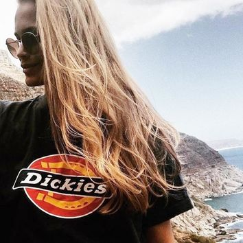 Dickies Fashion Men Women T-shirts