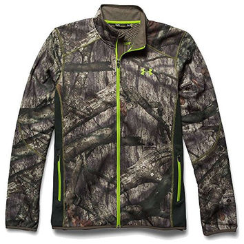 Under Armour Coldgear Infrared Scent Control Fleece Full Zip Jacket - Men's Mossy Oak Treestand / Velocity XXL