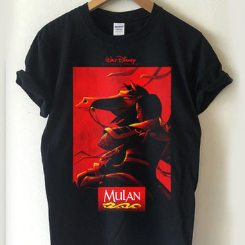 mulan disney T-shirt Men, Women, Youth and Toddler