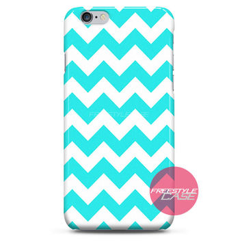 Chevron Tiffany Blue Pattern iPhone Case 3, 4, 5, 6 Cover