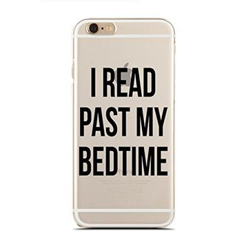 Clear Snap-On case for iPhone 5/5S - I Read Past My Bedtime (C) Andre Gift Shop