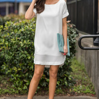 Calm And Collected Dress, Ivory