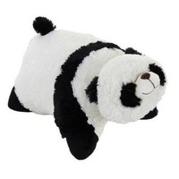 "Fireball Genuine My Pillow Pet Comfy Panda - Large 18"" (Black and White)"