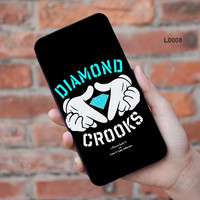 Diamond Crooks iPhone leather case wallet cover iPhone 6 6Plus iPhone 5 5S iPhone 5C iPhone 4 4S Galaxy note4 note3 note2 s5 s4 s3 008