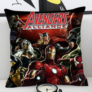 The Avengers Marvel  - Pillow Cover by PillowKesetiaan.