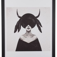 The Mound II By Ruben Ireland - Framed Print 50 x 70