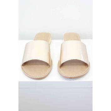 Tymber Sandals - Gold