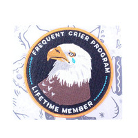 Frequent Crier Program Iron-On Patch