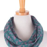 Jersey Infinity Scarf- Emerald