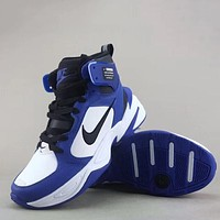 Trendsetter Nike M2k Tekno Mid Leather Prm  Fashion Casual Sneakers Sport Shoes