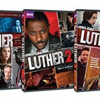 Idris Elba & Various - Luther: Complete Series