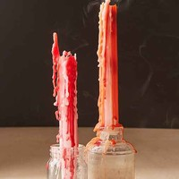 Halloween Color Drip Candle Set