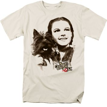 Wizard of Oz - Dorothy and Toto Cream Color T-Shirt