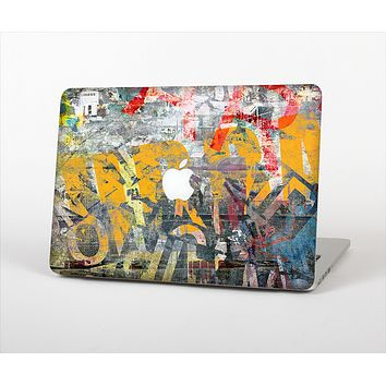 The Vibrant Colored Graffiti Mixture Skin Set for the Apple MacBook Pro 15""