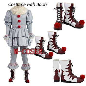 Stephen King's It Pennywise Cosplay Costume Clown Costume
