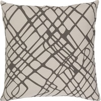 Somerset Throw Pillow Brown, Neutral