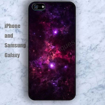 Nebula cartoon cloud lighting iPhone 5/5S Ipod touch Silicone Rubber Case, Phone cover