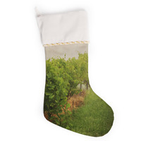 "Angie Turner ""Grape Vines"" Foggy Christmas Stocking"