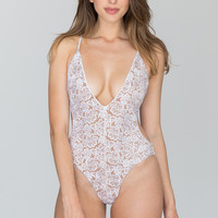 Blue Life - Hypnotic One Piece | White