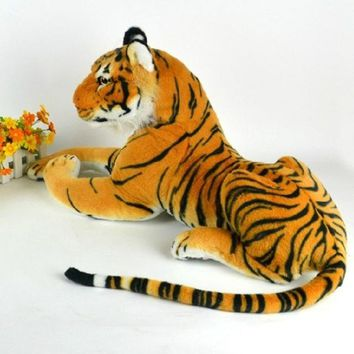 Lifelike Tiger Plush Animal Doll Children Kids Simulation Stuffed Toy Hot Sale