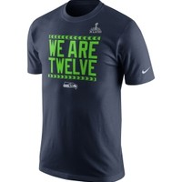 Nike Men's Seattle Seahawks Super Bowl XLVIII Bound Local T-Shirt