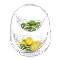 companion fruit basket - a modern, contemporary kitchen accessory from chiasso