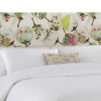 Novak Headboard, Cream/Multi, Headboards