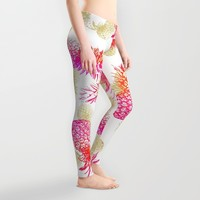Pineapple Party Leggings by Noonday Design