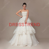 Wedding Dress - Cheap Wedding Dress / Custom Make Wedding Dress / Wedding Dress / Cheap Bridal Gowns / White Bridal Dress
