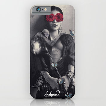 Frida Kahlo my Treasure iPhone & iPod Case by lostanaw