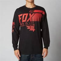 Fox Racing Exhaust Hound Long Sleeve T-Shirt for Men 15127-001
