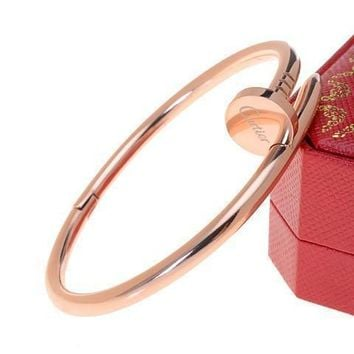 One-nice? Cartier Woman Fashion LOVE Plated Bracelet For Best Gift