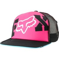 Fox Girls Endless Pink & Black Snapback Trucker Hat