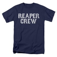 Sons Of Anarchy Men's  Reaper Crew T-shirt Navy