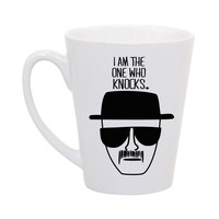 "Breaking Bad, Heisenberg ""I am the one who knocks"" coffee mug"