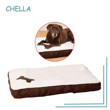 2017 New Pet Bed Memory Foam Dog Bed Unique Luxury Soft Black and Brown Pet Cushion Anti-slip Dog Cushion Removeable Washable
