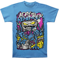 A Day To Remember Men's  Attack Of The Killer B-Sides Sapphire T-shirt Blue