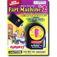 T.J. Wiseman Remote Controlled Fart Machine No. 2 - Pack of 2