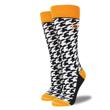 The Mac - Women's Houndstooth Socks