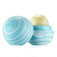 eos Visibly Soft Vanilla Mint Lip Balm Sphere (Blue)